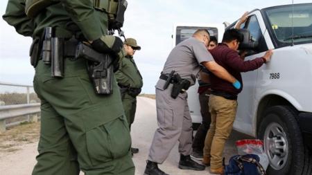 Detienen a un grupo de casi 200 indocumentados en la frontera sur