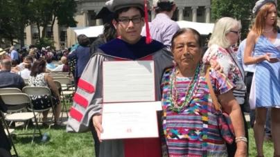 Se gradúa primer joven indígena oaxaqueño como doctor en el Instituto Tecnológico de Massachusetts