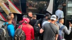 Autoridades de México interceptan a 195 migrantes en tres autobuses