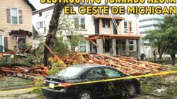 """""""Techos y autos destruidos, vialidades cerradas y miles de casas sin energía eléctrica"""""""