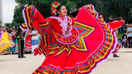 Miles de mexicanos asistieron al Festival Mexicano en GR