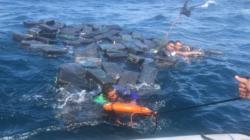 Armada Colombiana rescata a tres narcotraficantes que naufragaron