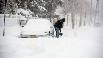 Tormentas de Nieve baten récords en el Oeste del país