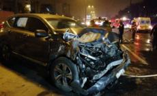 Accidente automovilístico deja varios lesionados