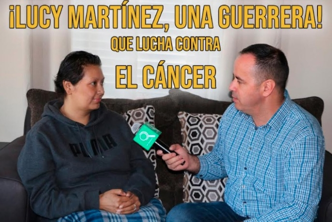 Lucy Martínez una guerrera! que lucha contra el cáncer