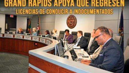 Grand Rapids apoya que regresen licencias de conducir a indocumentados