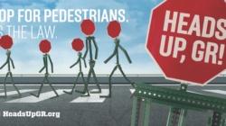 GR fomenta la seguridad peatonal