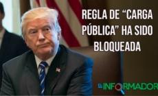 "Regla de ""carga pública"" ha sido bloqueada"