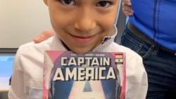 Un pequeño Capitán América pide asilo ante una jueza de inmigración