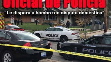 Oficial de policía le dispara a sujeto en disputa domestica