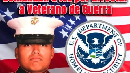 Demandan a ICE por arrestar a Veterano de Guerra