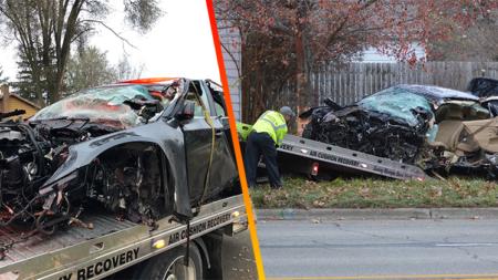 Terrible accidente vehicular