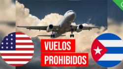 Entra en vigor la prohibición de vuelos entre EE.UU. y el interior de Cuba
