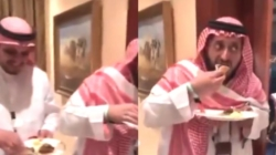 Andy Ruiz le picha unos taquitos al príncipe de Arabia (VIDEO)
