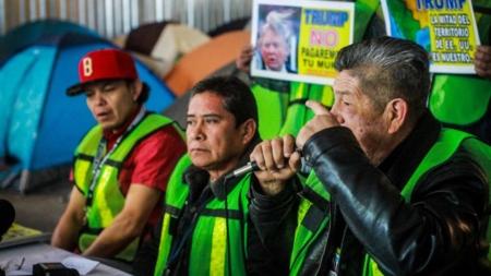 Defensores de migrantes quemarán figura de Donald Trump en fronteriza Tijuana