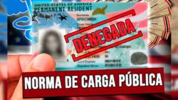 """Suprema Corte avala negar Green Card con la norma de """"Carga Pública"""""""