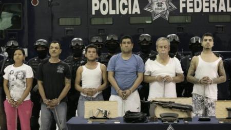 México extradita a Estados Unidos a ocho presuntos narcotraficantes