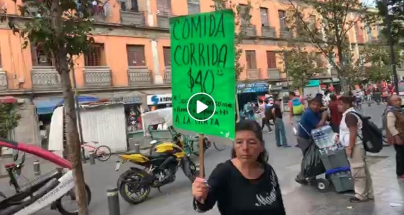 LA RUTA DE #ELINFORMADOR DESDE EL ZÓCALO CAPITALINO EN LA CIUDAD DE MÉXICO