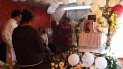 Familiares despiden a niña asesinada en México entre reproches a autoridades
