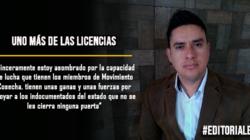 Uno más de las licencias