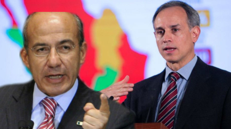 López Gatell califica de irresponsable a Calderón por politizar el Covid-19
