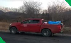Encontraron 12 cuerpos abandonados en una camioneta