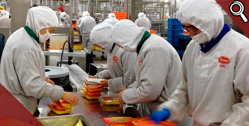 570 trabajadores de Tyson en Carolina del Norte dan positivo de coronavirus