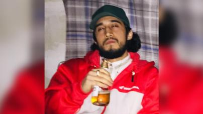 El rostro del presunto asesino de dos hispanos