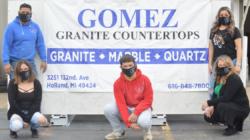 """Gómez Granite Countertops """"Listos para ponerle el mejor granito, quartz o marble"""""""