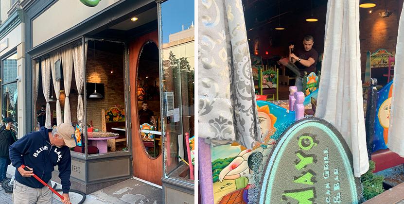 Cinco de Mayo Mexican Grill & Bar pide apoyo para poder reconstruir su negocio