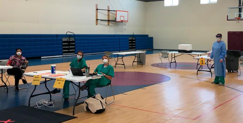 El Departamento de Salud del Condado de Kent abre cuatro nuevas clínicas para pruebas de COVID-19